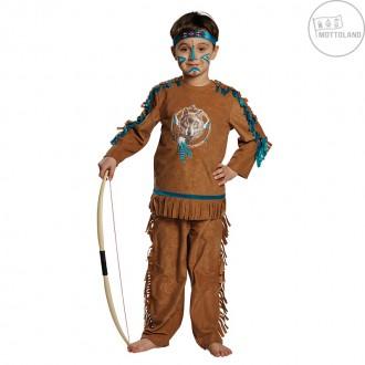 Kostýmy - Indián Atacapa - kostým