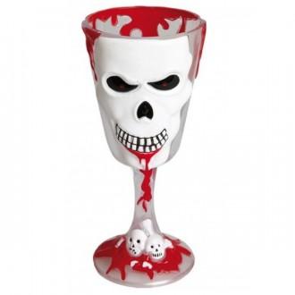 Halloween - Sklenice hororová se smrtkou