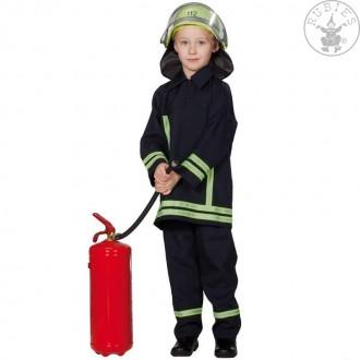 Kostýmy - Hasičský oblek s reflexnímy pruhy
