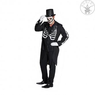 Kostýmy - Černý frak - kostra