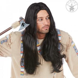 Indiáni - Indián Kiowa - karnevalová paruka