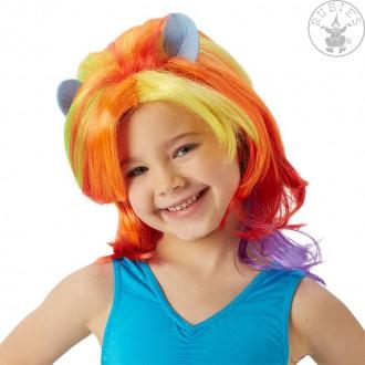 Paruky - MLP Rainbow Dash Wig - dětská paruka