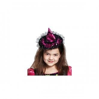 Čarodějnice - Čarodějnický klobouček na sponě