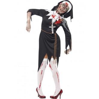 Kostýmy - Kostým zombie jeptiška