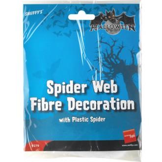 Halloween - Pavučina s pavoukem