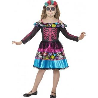Kostýmy - Dětský kostým Den mrtvých