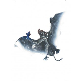 Halloween - Gumový netopýr