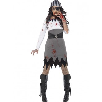 Kostýmy - Kostým zombie pirátka