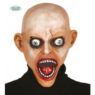 Masky - Latexová maska plešatý ZOMBIE