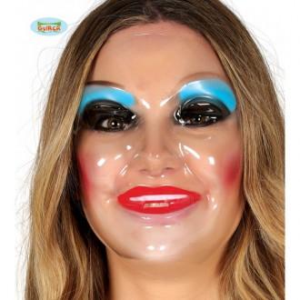 Masky - Dámská průhledná maska