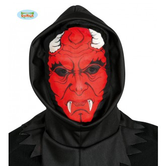 Halloween - Démon hood - maska