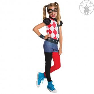 Kostýmy - Harley Quinn deluxe dětský kostým