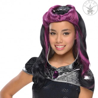 Paruky - Raven Queen Wig - dětská paruka