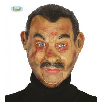 Masky - Maska muž s knírem