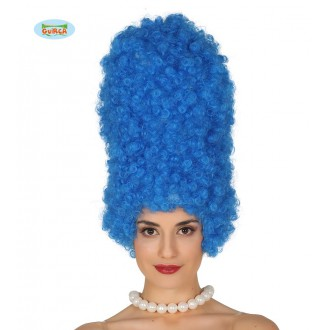 Paruky - Modrá paruka Marge
