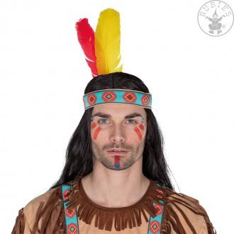 Indiáni - Indiánská čelenka vel. 58