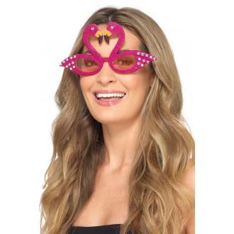 Brýle - Brýle plaměňák