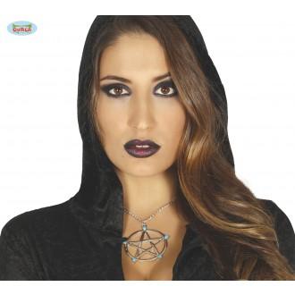 Bižuterie - Náhrdelník pentagram