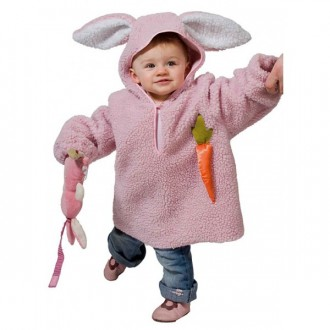 Kostýmy - Zajíček růžový