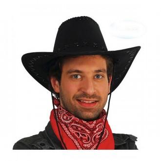 Kovbojové - Kovbojský klobouk černý