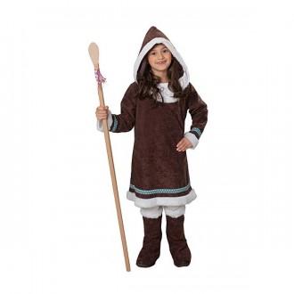 Kostýmy - Eskymácká dívka  - kostým