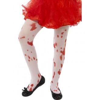 Doplňky - Dětské punčochové kalhoty s krví
