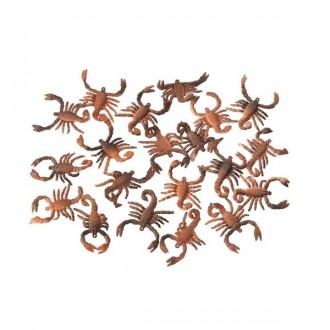 Halloween - 20 škorpionů 5 cm