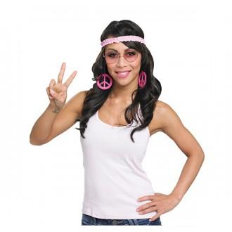Doplňky - Hippie set - naušnice a čelenka