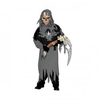 Kostýmy - Grim Reaper - dětský  kostým s maskou