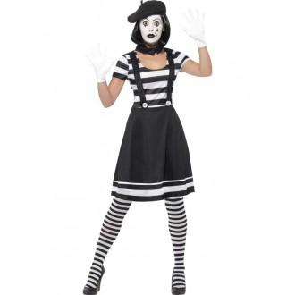 Kostýmy - Dámský Mim - kostým