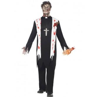 Kostýmy - Zombie farář - kostým