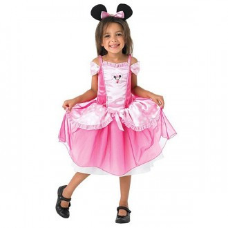 Kostýmy - Minnie Mouse Pink Balerina  - licenční kostým