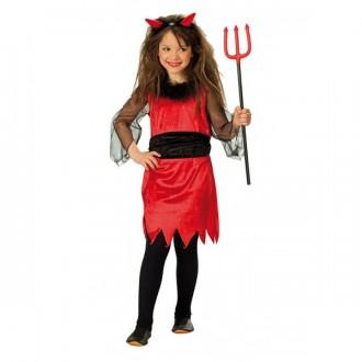 Kostýmy - Malá čertice - dětský karnevalový kostým