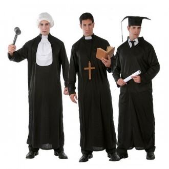 Kostýmy - 3 v 1 - soudce, kněz a student