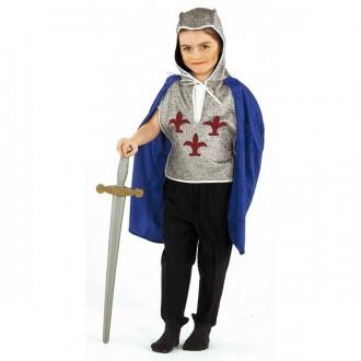 Kostýmy - Rytíř - halena s pláštěm