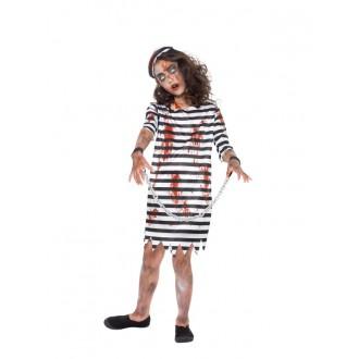 Kostýmy - Dětský kostým - vězeň zombie