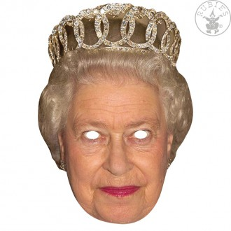 Masky - Queen - kartonová maska pro dospělé