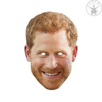 Masky - Princ Harry - kartonová maska pro dospělé