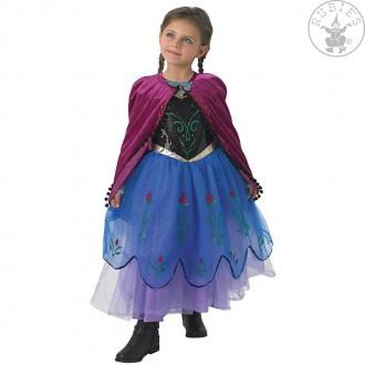 Kostýmy - Dětský kostým Anna Deluxe - ledové království