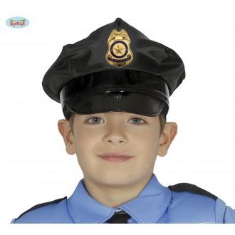 Klobouky, čepice - Policejní čepice dětská -Guirca