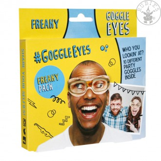 Brýle - Freaky Google Eyes