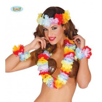 Havaj - Extra multicolor havajský set