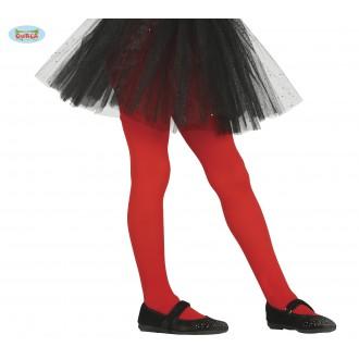 Doplňky - Dětské červené punčocháče