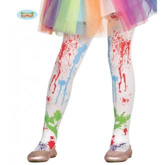 Doplňky - Dětské barevné punčocháče