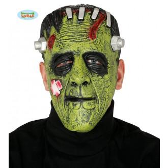 Halloween - Maska zelené monstrum Frankenstein