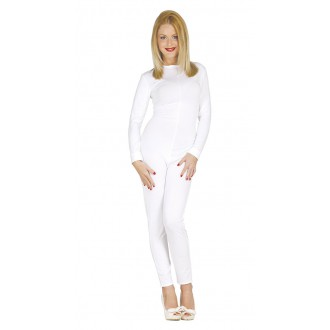 Kostýmy - Dámský overal bílý