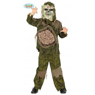 Halloween - Kostým příšery a vnitřnostmi