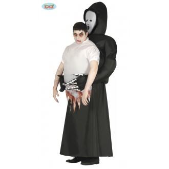 Halloween - Kostým se smrtí za zády