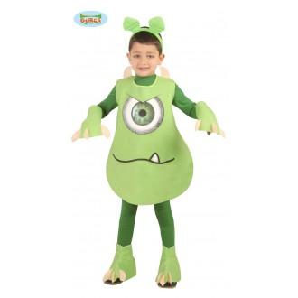 Kostýmy - Zelené dětské monstrum