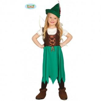 Kostýmy - Robin Hood - dívčí kostým